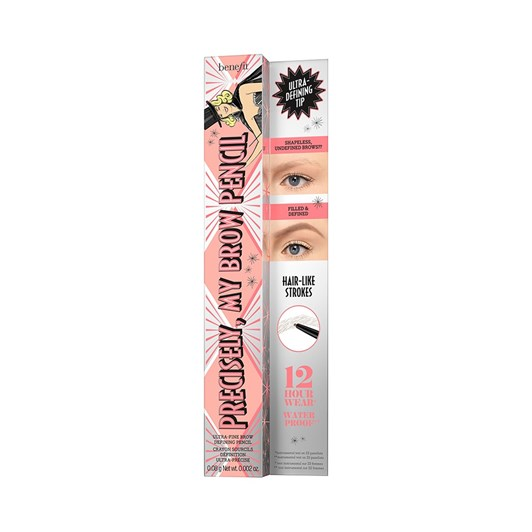 benefit precisely, my brow eyebrow pencil shade 04 warm deep brown