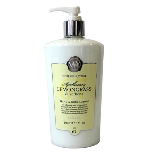 Morlage & Yorke Apothecary Lemongrass & verbena 500ml Hand & Body Lotion