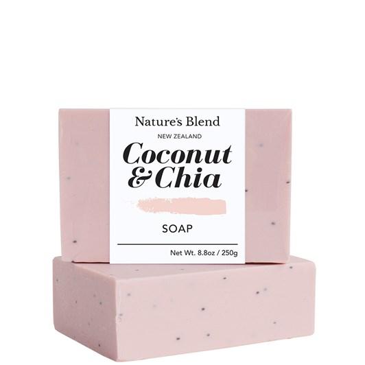 Natures Blend Coconut & Chia Soap Bar 250g