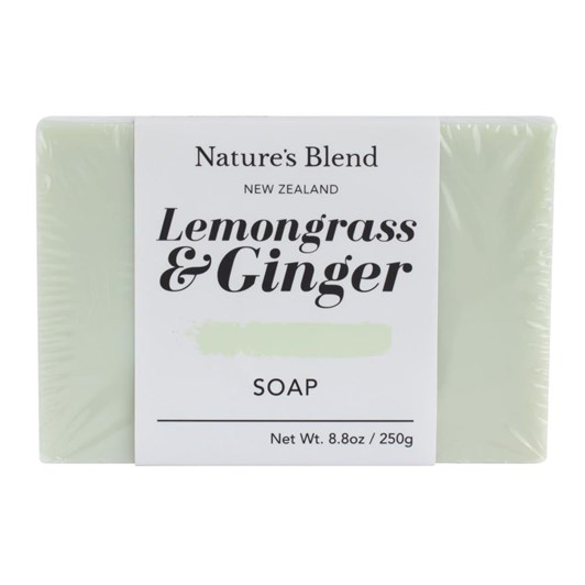 Natures Blend Lemongrass & Ginger Soap Bar 250g