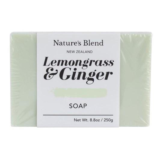 Natures Blend Lemongrass & Ginger Soap Bar 250g