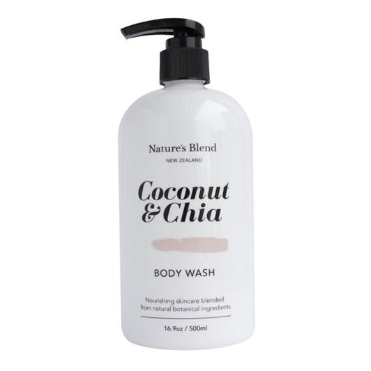 Nature's Blend Body Wash Coconut & Chia - 500ml