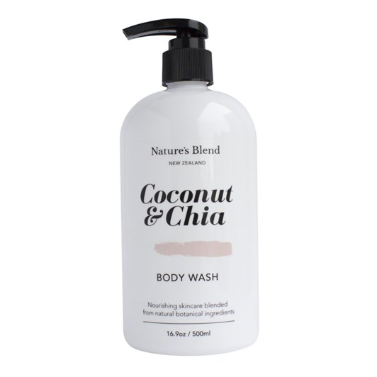 Nature's Blend Body Wash Coconut & Chia - 500ml