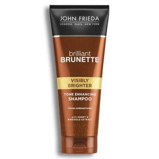 John Frieda Brilliant Brunette  Visibly Brighter Shampoo