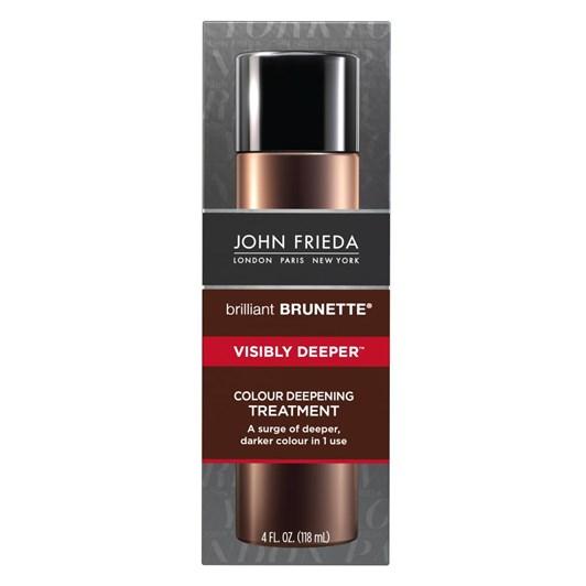 John Frieda Brilliant Brunette  Visibly Deeper Treatment
