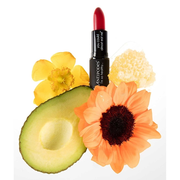 Antipodes Lipstick - ruby bay rouge