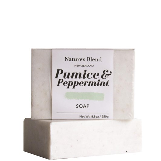 Natures Blend Soap Bar Pumice & Peppermint - 250g