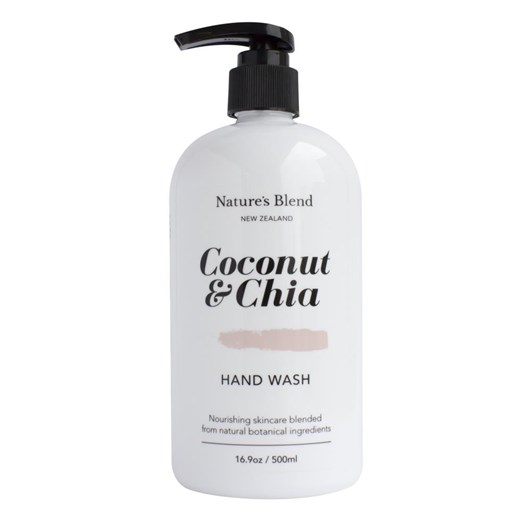 Natures Blend Hand Wash Coconut & Chia - 500ml