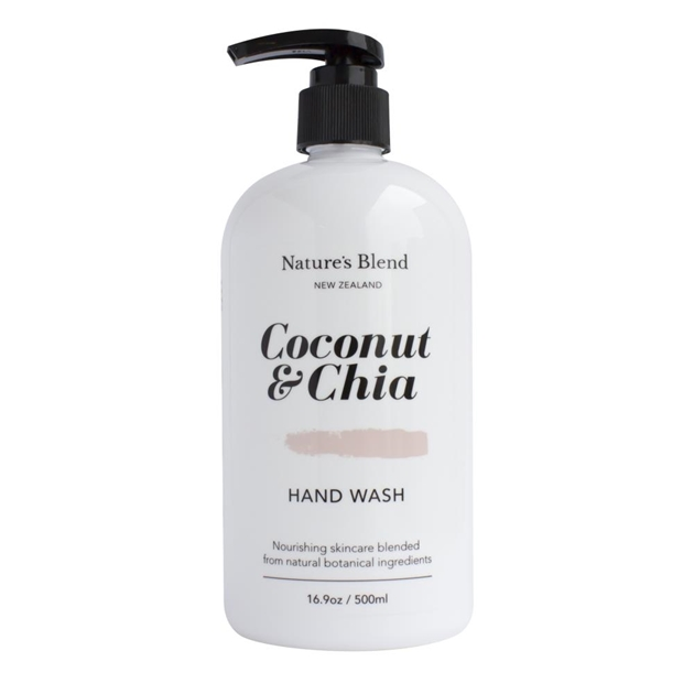 Natures Blend Hand Wash Coconut & Chia - 500ml -