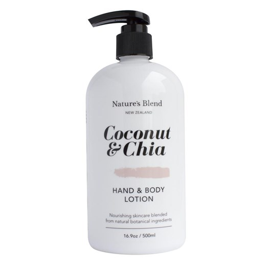 Natures Blend Hand & Body Lotion Coconut & Chia - 500ml