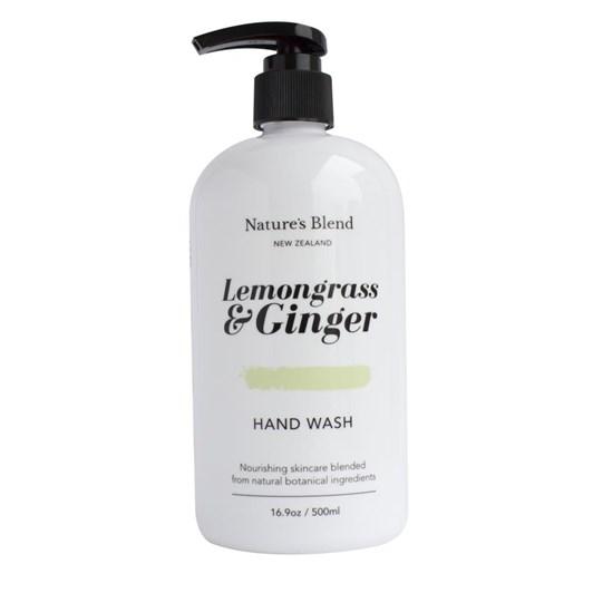Natures Blend Hand Wash Lemongrass & Ginger - 500ml