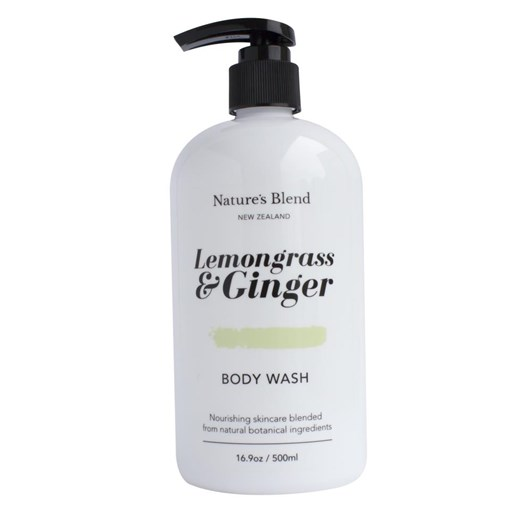 Natures Blend Body Wash Lemongrass & Ginger - 500ml