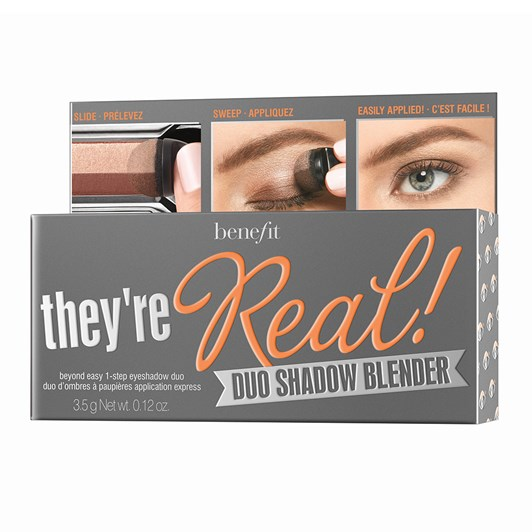 Benefit They're Real Duo Shadow Blender - Easy Smokin'