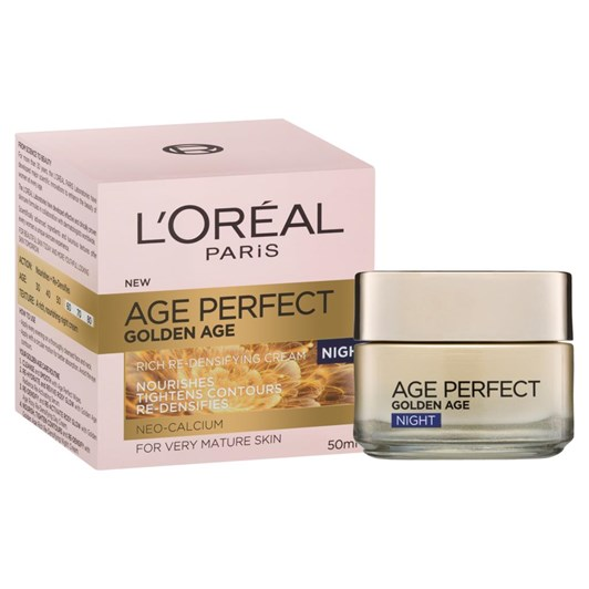 L'Oréal Paris® Age Perfect Golden Age Re-Densifying Night Cream