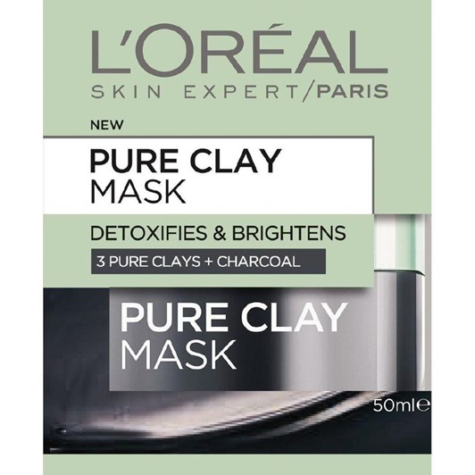 L'Oreal Paris Pure Clay Detox & Brighten Face Mask 50ml