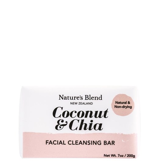 Natures Blend Coconut&Chia Facial Cleansing Bar