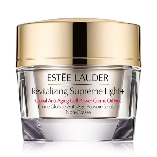 Estee Lauder Revitalizing Supreme Light+ Global Anti-Aging Creme Oil-Free