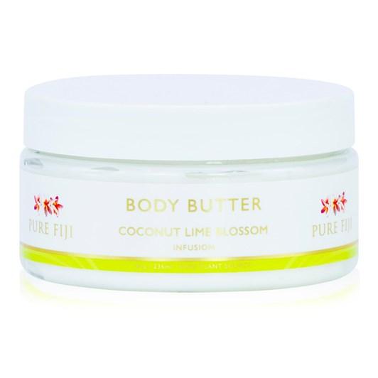 Pure Fiji Coconut Lime Blossom Body Butter 236Ml