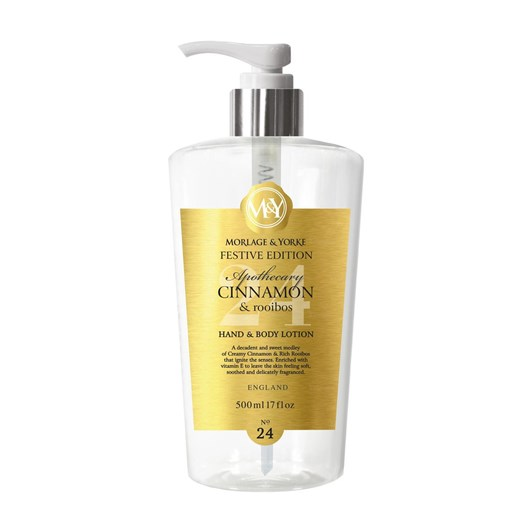 Morlage & Yorke Apothecary Cinnamon & Rooibus Hand And Body Lotion 500ml
