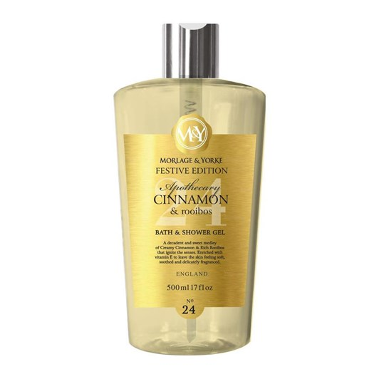 Morlage & Yorke Apothecary Cinnamon & Rooibus Shower Gel 500ml