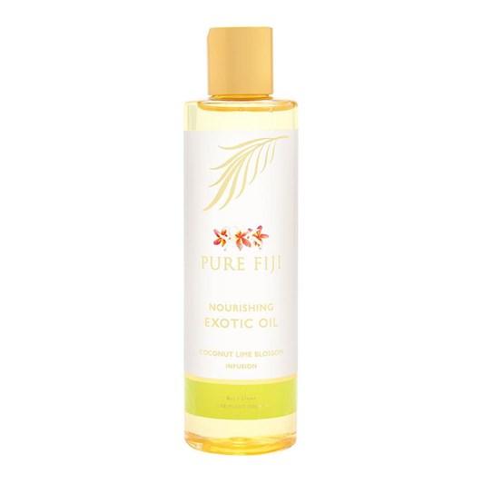 Pure Fiji Exotic Bath & Body Oil Coconut Lime Blossom 235ml