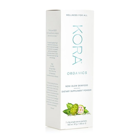 KORA Organics Noni Glow SkinFood Supplement - 7 Pack