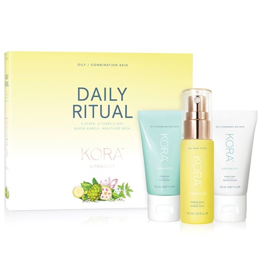 KORA Organics Daily Ritual Kit - Oily/Combination Skin