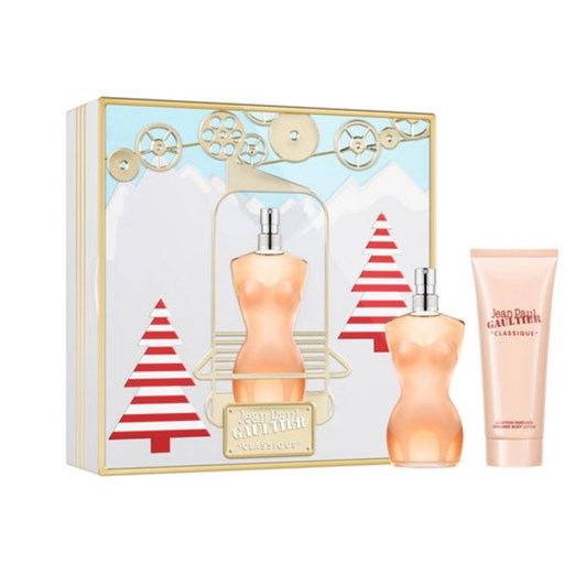 Jean Paul Gaultier Classique Christmas Set With Edt 50Ml & Body Lotion 75Ml