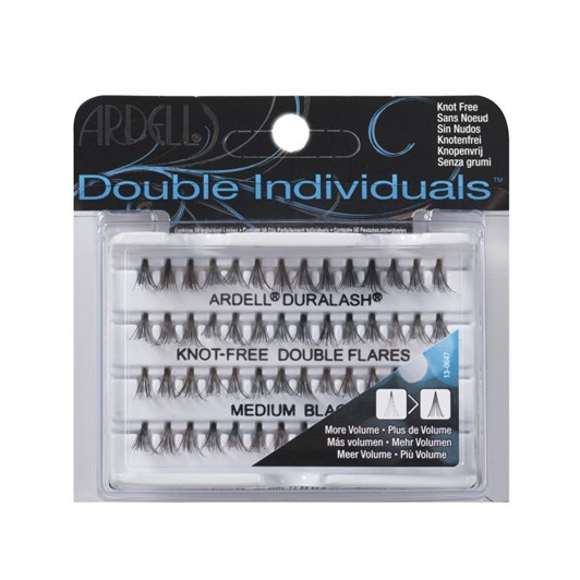 Ardell Double Individual Lashes Knot Free Medium Black