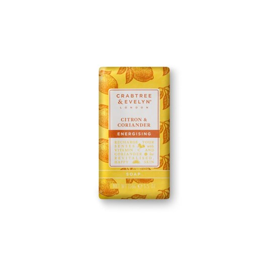 Crabtree & Evelyn Citron & Coriander Triple Milled Soap 158Gm