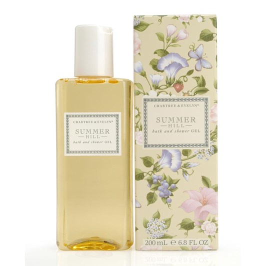 Crabtree & Evelyn Summer Hill Bath & Shower Gel 200Ml