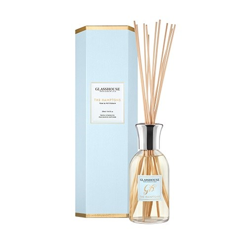 Glasshouse The Hamptons 250ml Fragrance Diffuser - Teak & Petitgrain