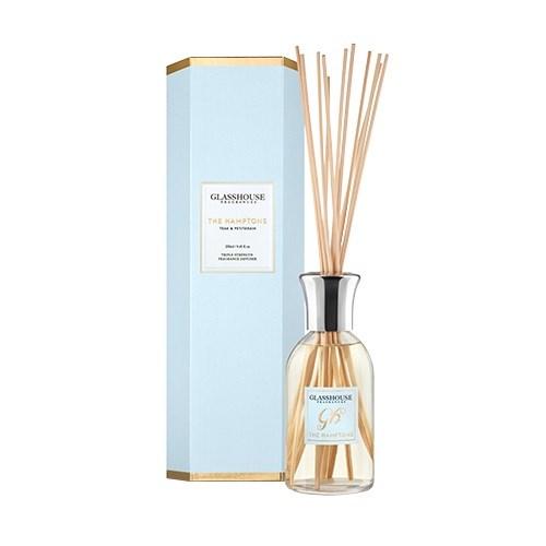 Glasshouse The Hamptons 250ml Fragrance Diffuser - Teak & Petitgrain