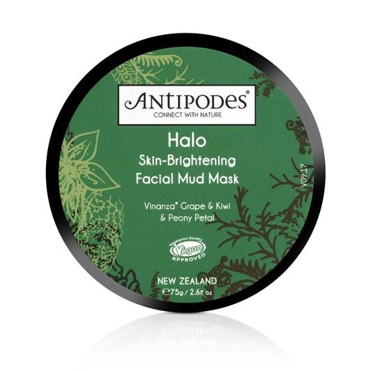 Antipodes Halo Skin Brightening Facial Mud Mask 75gm