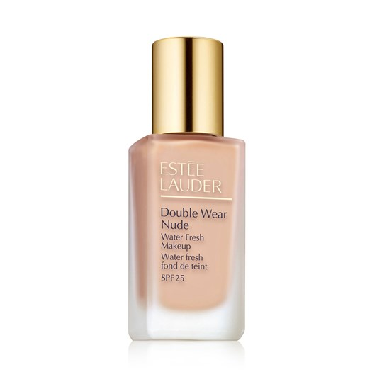 Estee Lauder Double Wear Nude Water Fresh Makeup SPF 25 Shell - 1C0