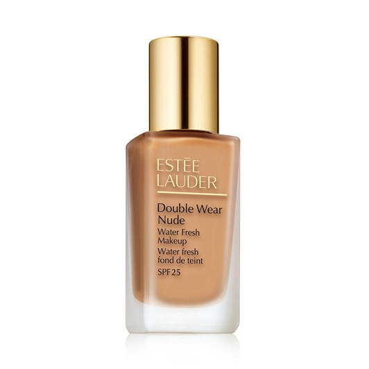 Estee Lauder Double Wear Nude Water Fresh Makeup SPF 25 Spiced Sand - 4N2