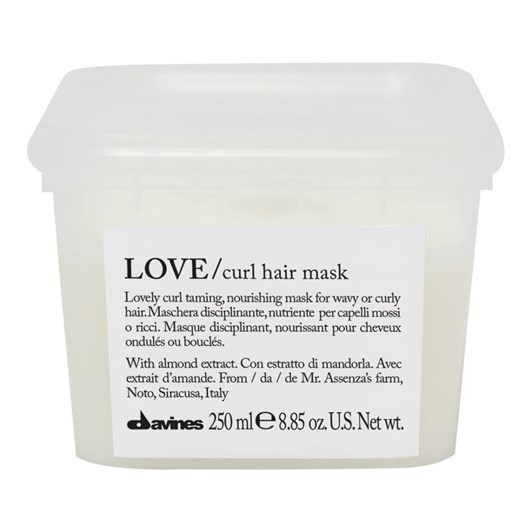 LOVE CURL Hair Mask 250ml by Solace Hair and Beauty