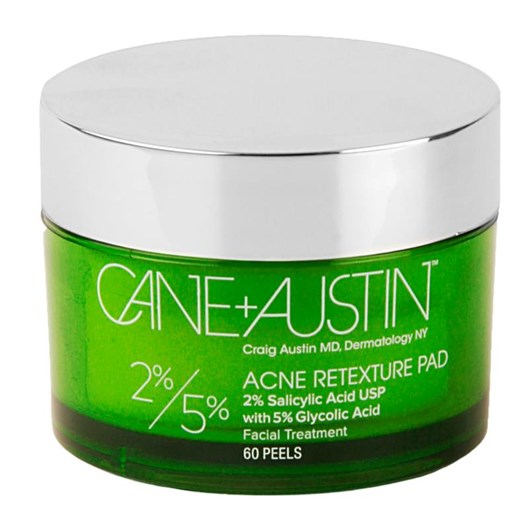 Cane+Austin Acne Retexture Pad 5% Glycolic Acid + 2% Salicylic Acid