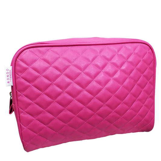 Mondo Eva Clutch Red Quilted