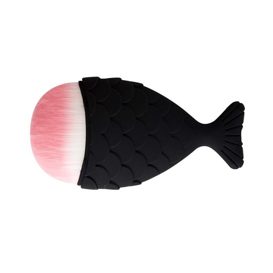 Simply Essential Mermaid Contour Brush Black