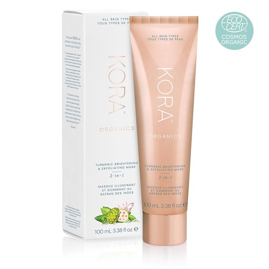 KORA Organics Turmeric Brightening & Exfoliating Mask 100ml