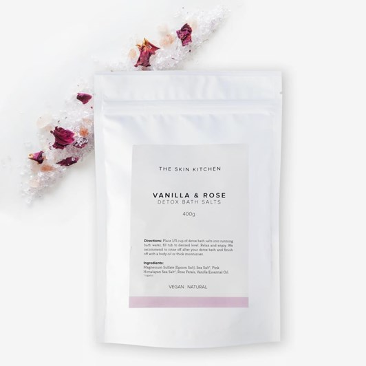 The Skin Kitchen Rose Vanilla Detox Bath Soak