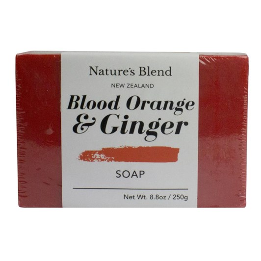 Natures Blend Blood Orange & Ginger Soap Bar