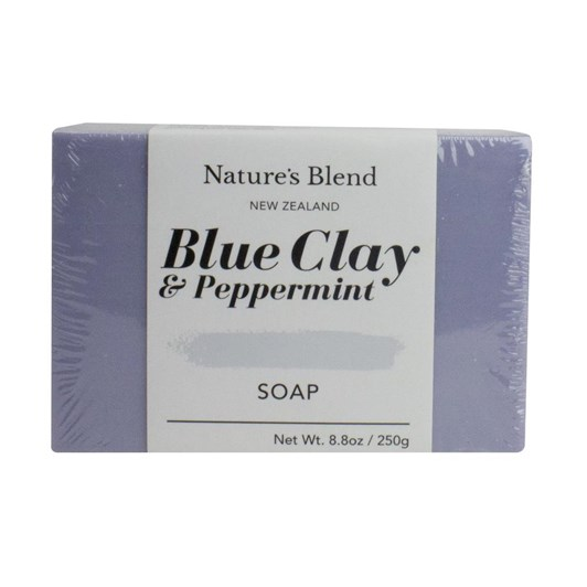 Natures Blend Blue Clay & Pepermint Soap Bar