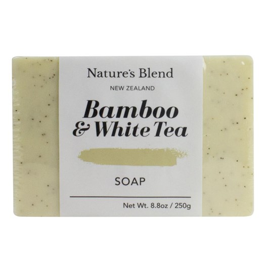 Natures Blend Bamboo & White Tea Soap Bar