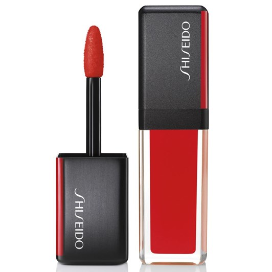 Shiseido Lacquerink Lipshine 305 Red Flicker
