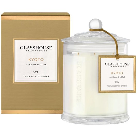 Glasshouse Kyoto Triple Scented 700g Candle