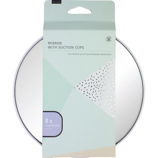 Simply Essential 8x Magnificantion Mirror with Suction Cups