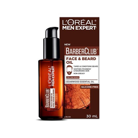 L'Oreal Paris Men Expert Barber Club Beard Oil 30ml