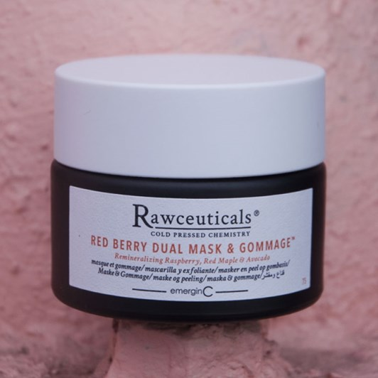 Rawceuticals® Red Berry Dual Mask & Gommage™